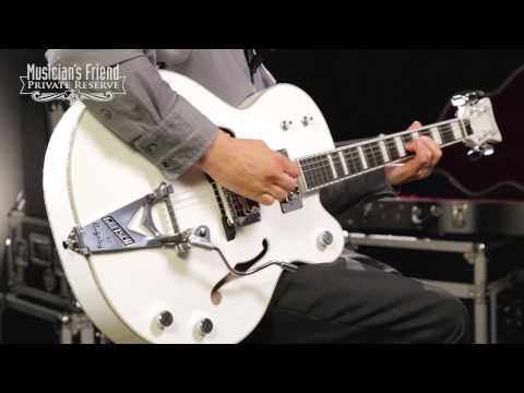 Gretsch Guitars G7593TBD Billy Duffy Signature White Falcon, White