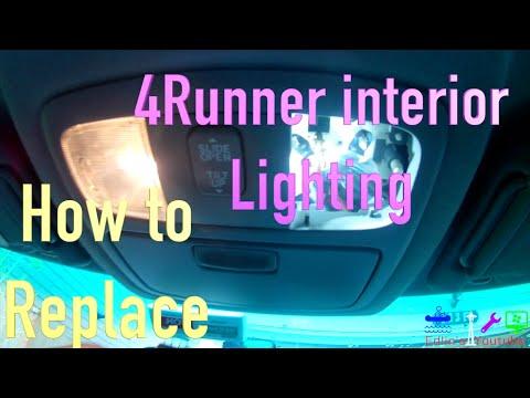 Toyota 4Runner LED Interior Lights Install - 4th Gen DIY