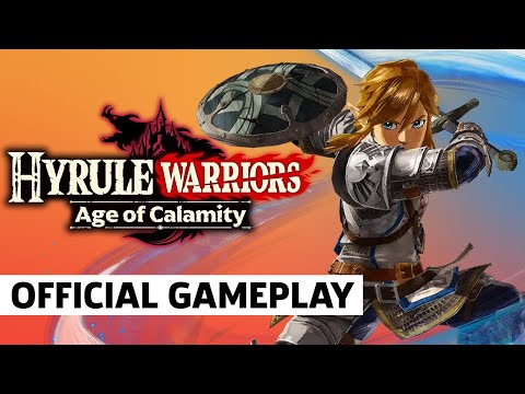 Hyrule Warriors: Age Of Calamity Gameplay (Japanese)