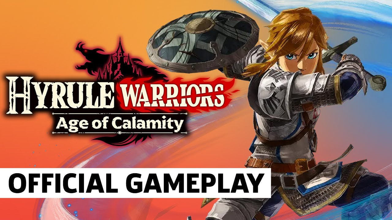 Hyrule Warriors Age Of Calamity Gameplay Japanese Youtube