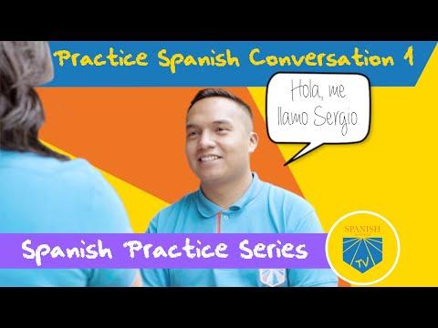 Practice Spanish Conversation 1 | Spanish Academy TV