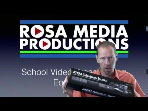 School Video Broadcasting Equipment