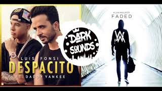 Luis Fonsi & Justin Bieber X Alan Walker - Despacito X Faded (HL Remix)