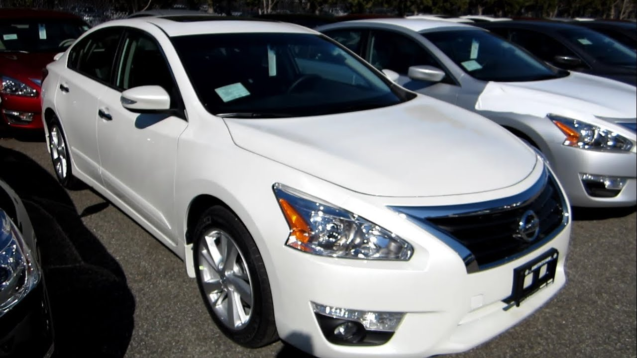 Nissan Altima 2.5 S >> 2014 Nissan Altima 2.5 SL Full Tour, Engine & Overview/Review - YouTube