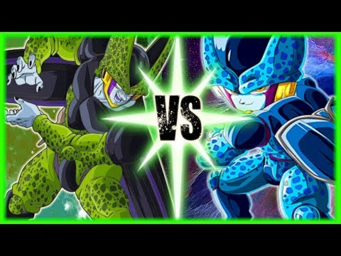 Perfect Cell Vs Cell Jr