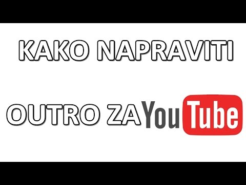 how to create a youtube intro and outro