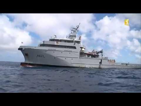 Visite à bord du bâtiment multi-missions : le d'Entrecasteaux