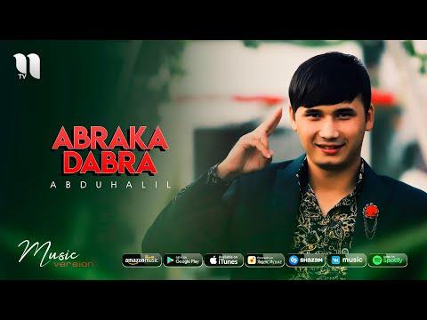 Abduhalil - Abraka dabra audio