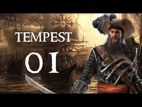 Tempest - Part 1 (PIRATE RPG - Let's Play PC Gameplay Walkthrough)