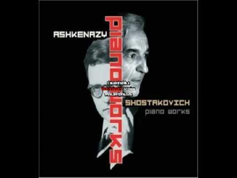 Ashkenazy plays Shostakovich Dances of the Dolls Lyric Waltz