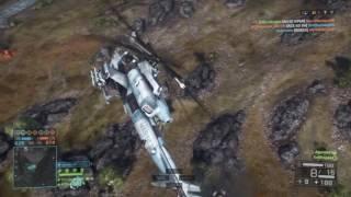 Battlefield 4 Attack Chopper: 166-2 Altai Range (Agera621, EvilSnipes)