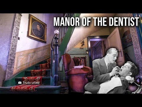 HUGE Abandoned Manor Of A Belgian Dentist (ALL MEDICAL EQUIPMENT LEFT)