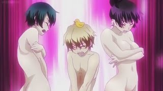Cought In the Bath Together! | [Funny-Anime-Moments #6]