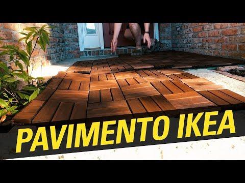 Installazione PAVIMENTO Di IKEA RUNNEN Per Esterno