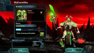 Let's Level the Necron Overlord (DoW2: The Last Stand) - 1 - Neue Helden, neuer Spaß!