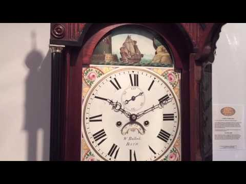 Automata Grandfather Clock by Bullock of Bath