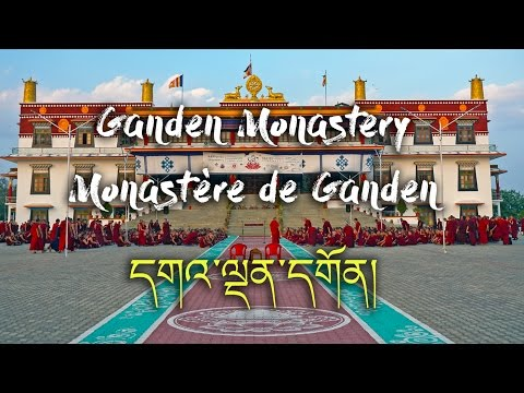 A Journey into Buddhism - Ganden Monastery (Tibetan Colony in India)