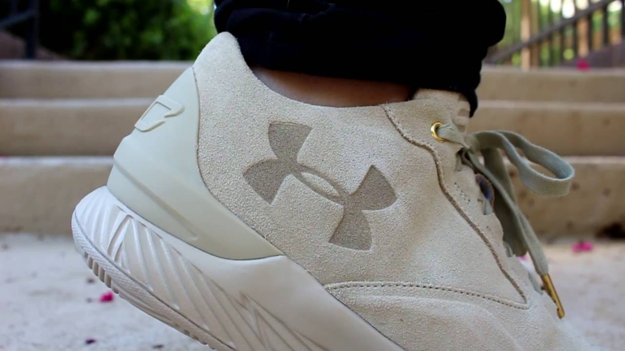 quite nice 2d350 b96ea Sneaker On-foot   UnderArmour Curry 1 Lux Sand