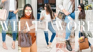 WHAT I WORE - 10 Outfit Ideas | LuxMommy