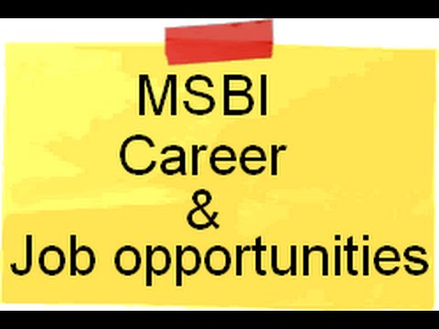 MSBI Career and Job opportunities.( Microsoft Business Intelligence)