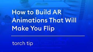 Hoe op te Bouwen AR Animaties Zullen U Flip
