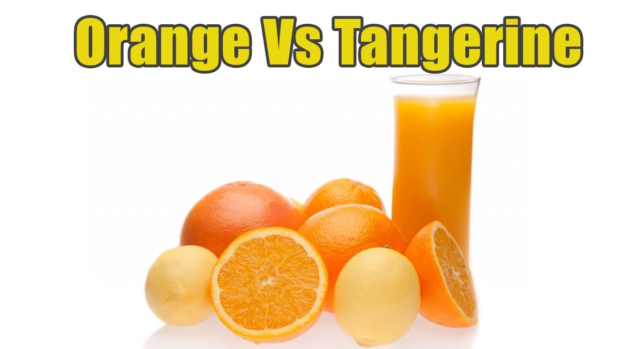 What Is The Difference Between Orange And Tangerine ...