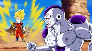 Super Saiyan Goten vs Frieza 100% Namek Arc - WHO WINS?