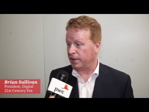 Brian Sullivan, Fox @ CES2016 with PwC