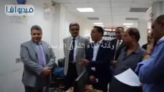 بالفيديو: رئيس جامعة بنها يتفقد مركز نظم المعلومات  للاطمئنان على استعداده لبدء العام الدراسي الجديد