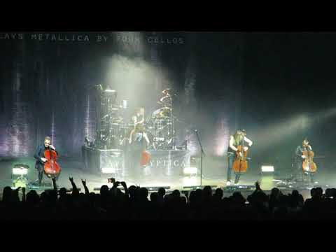 Apocalyptica - One (Live in Moscow, 26.03.2018 @ Crocus City Hall)