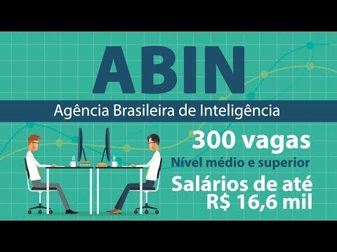 Curso Online ABIN - Agência Brasileira de Inteligência