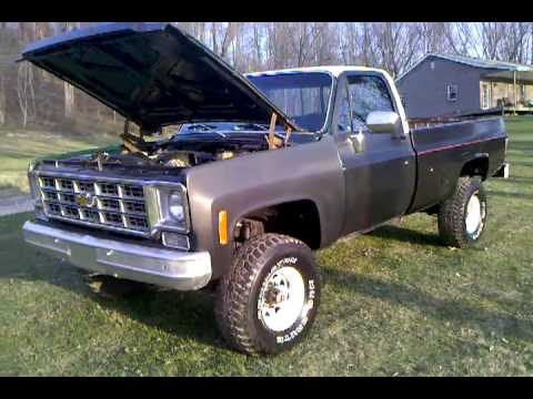 78 Chevy Scottsdale with 5.3 Vortec Project Update ...