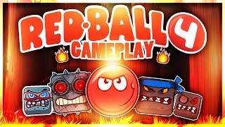 Red ball 4 boss battle gameplay 3