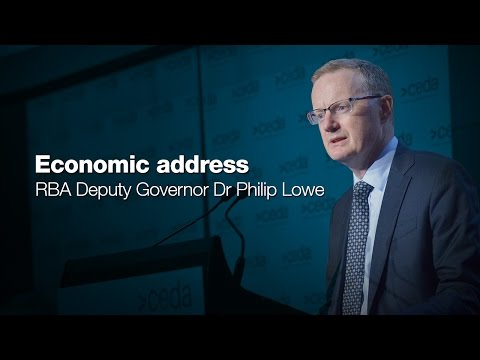 Economic address by RBA Deputy Governor - Dr Philip Lowe