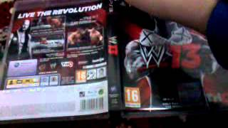Unboxing wwe13 arabic
