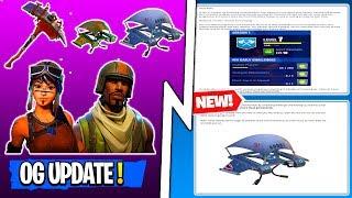 *NEW* Fortnite Update! OG SEASON 1 SKINS/COSMETICS RETURNING!