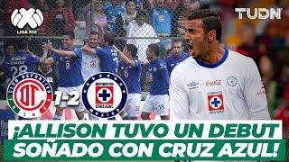 ¡Cardiaco! Allison ataja un penal en su debut y gana la máquina | Toluca 1-2 Cruz Azul - 2013 | TUDN