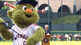 Orbit's 2015 Opening Day introduction