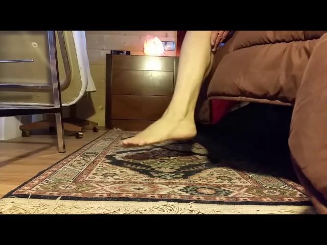 El mejor truco para quitarse un calambre  nocturno en las piernas