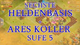 SECHSTE HELDENBASIS | ARES KOLLER STUFE 5! | SM 6/9 - Schloss Konflikt