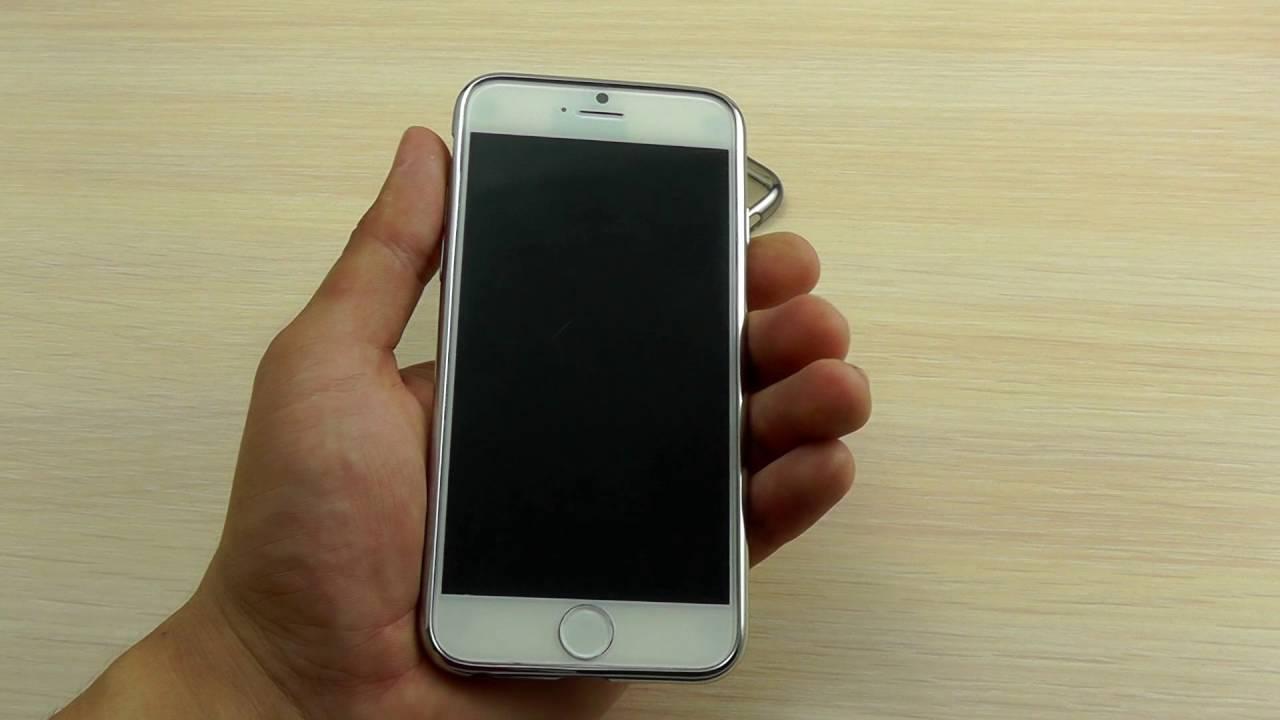 ОБЗОР: Ультратонкий Силиконовый Чехол-Накладка для iPhone 6/6s .