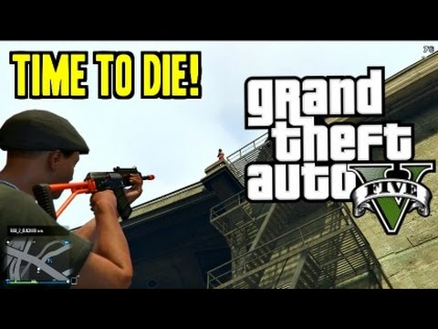 Funniest Grand Theft Auto 5 Gameplay Ever?!