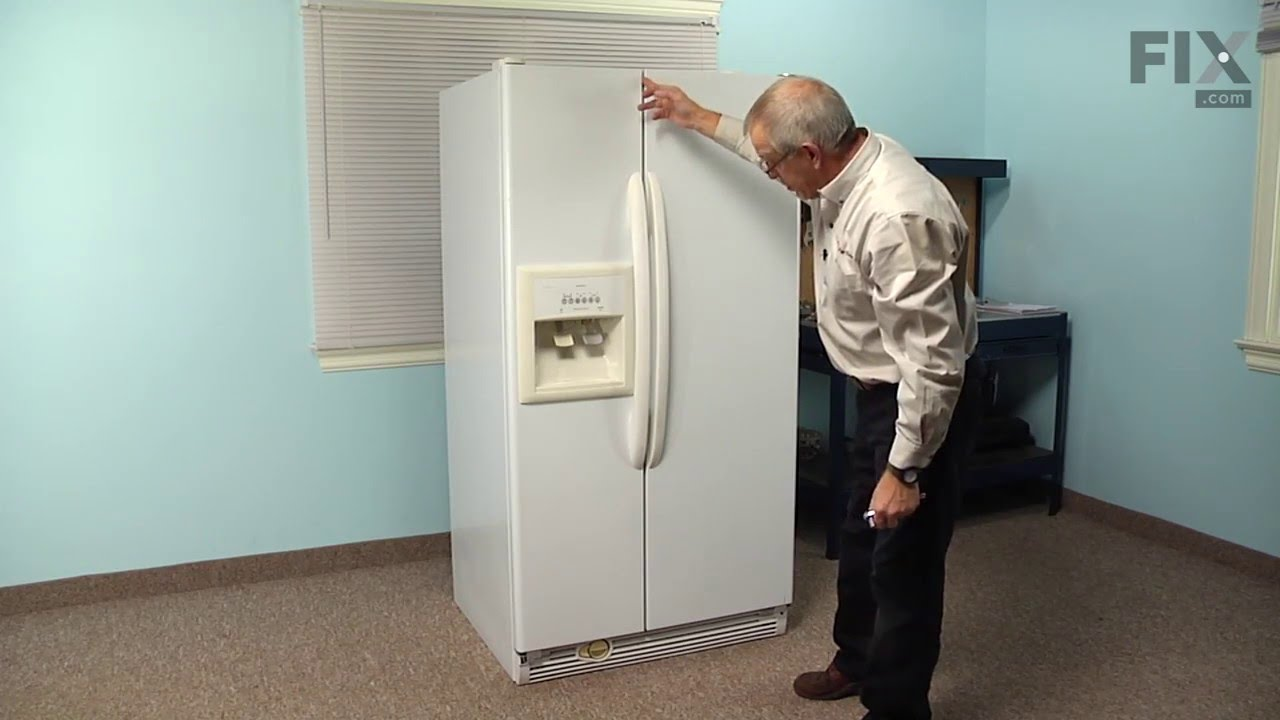 Kenmore Refrigerator Repair >> Kenmore Refrigerator Repair How To Replace The Door Cam Black