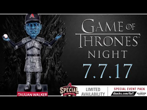 Game of Thrones fever at Chase Field
