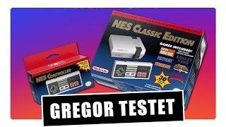 Gregor testet das NES Nintendo Classic Mini (Review)