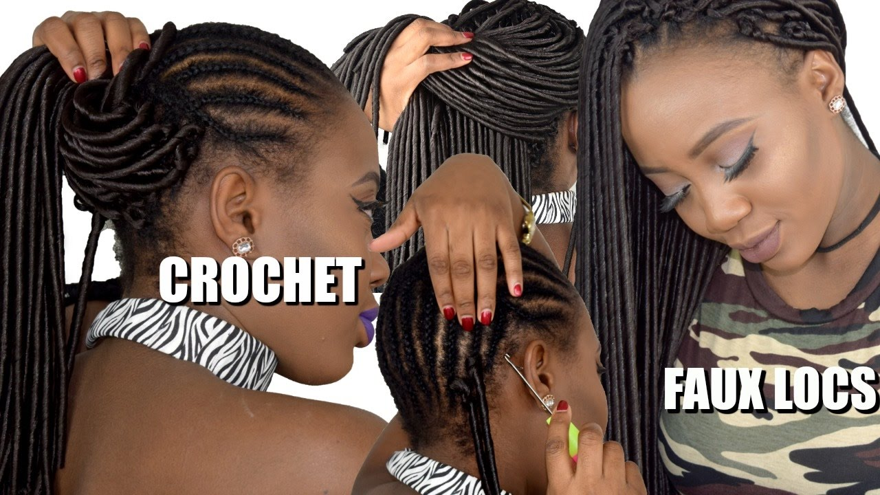 How To Crochet Faux Locs (beginner Friendly Tutorial)