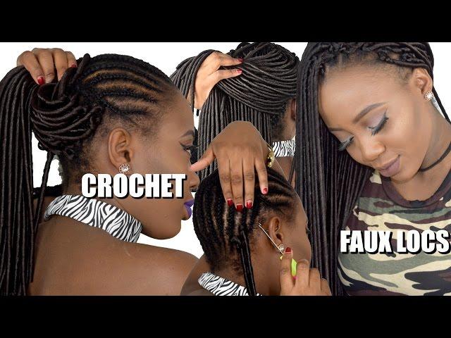 How To Crochet Faux Locs (Beginner friendly Tutorial)