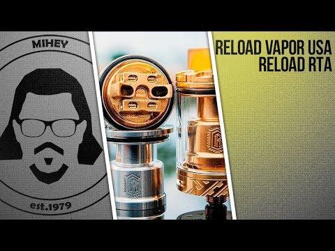Reload RTA by Reload Vapor USA. Новый любимец.