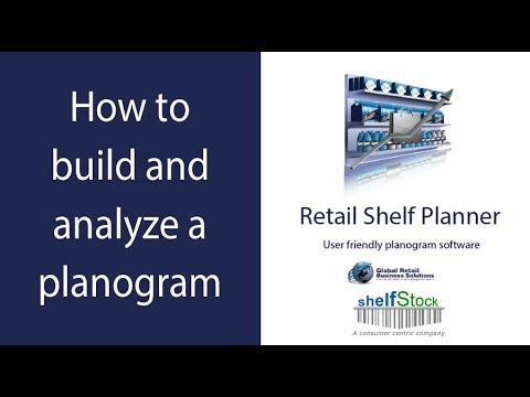 Retail Shelf Planner - How to build and analyze a planogram
