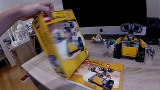 LEGO IDEAS 21303 WALL-e SPEED BUILD